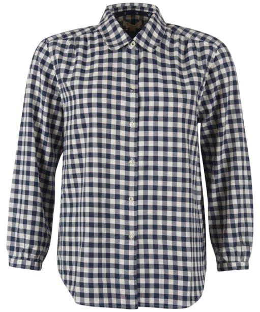 Women's Barbour Peregrine Shirt - Navy Check