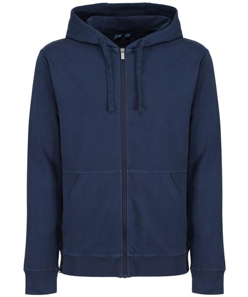Men's Tentree French Terry Zip Hoodie - Dress Blue