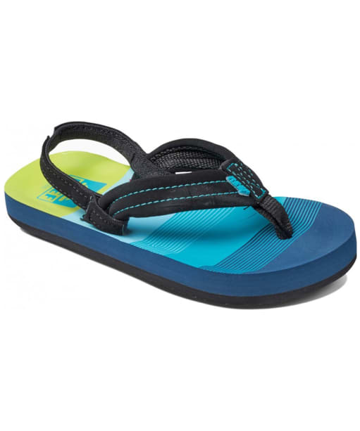 Boy's Reef Ahi Flip Flops - Littles - Aqua Green