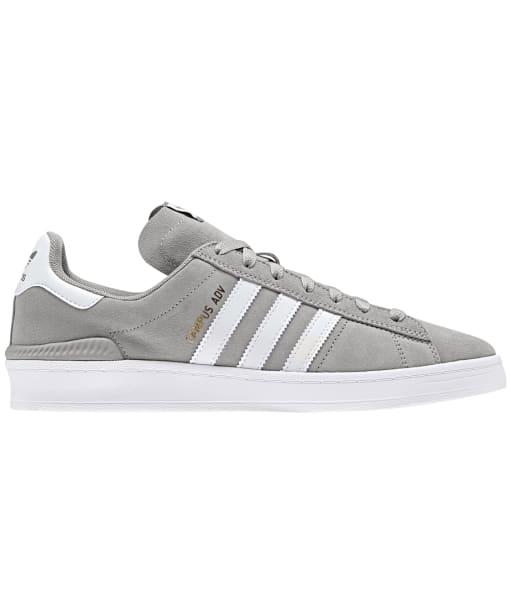 Men's Adidas Campus ADV Skate Shoes - Grey / White / White