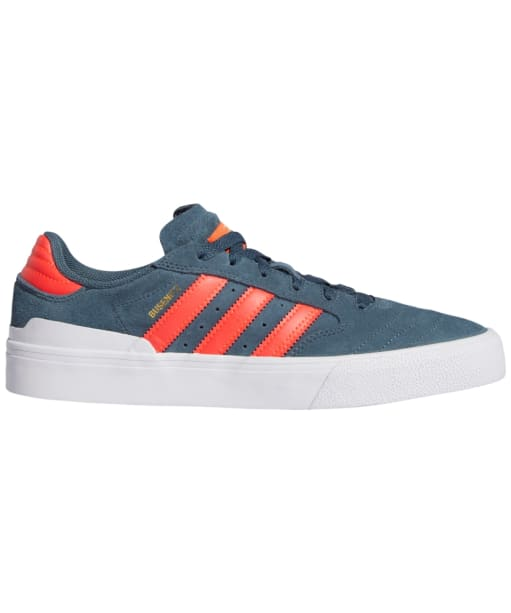 Men's Adidas Busenitz Vulc II Skate Shoes - Blue / Red / White