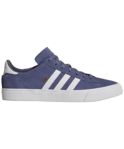 Men's Adidas Campus Vulc II Skate Shoes - Indigo / White / Indigo