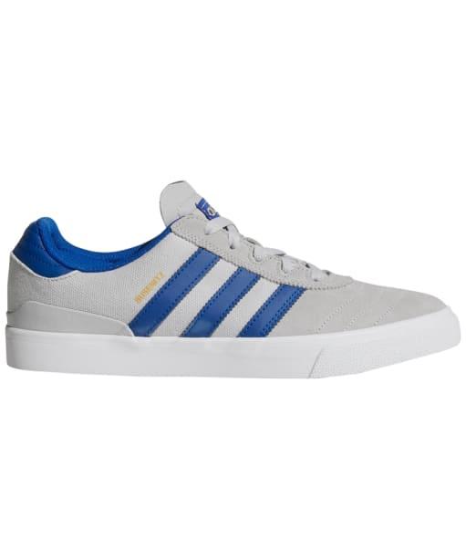 Men's Adidas Busenitz Vulc Skate Shoes - Grey / Royal / White