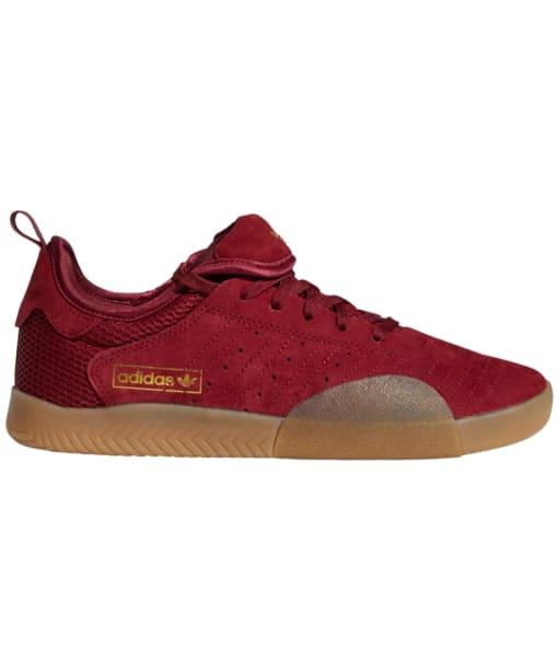 Men's Adidas 3ST Skate Shoes - Burgundy / Gum / GD