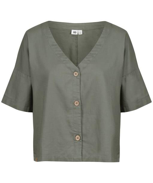 Women's Tentree Market Shirt - Agave Green