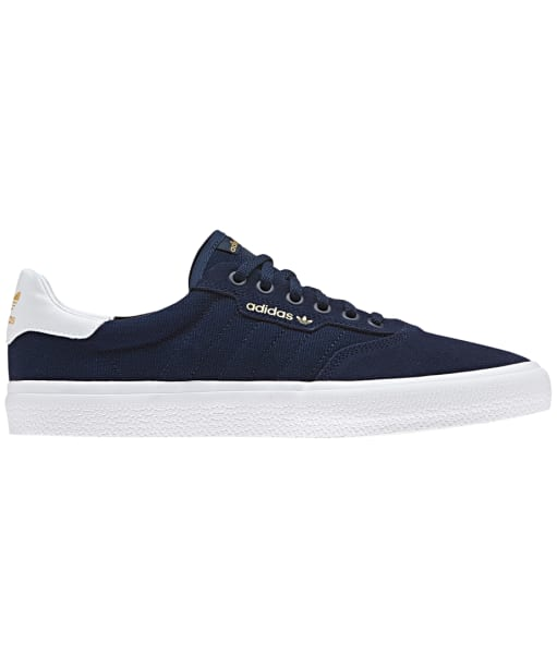 Men's Adidas 3MC Skate Shoes - Navy / White / Navy