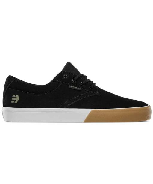 Men's etnies Jameson Vulc Skate Shoes - Black / Gum / White