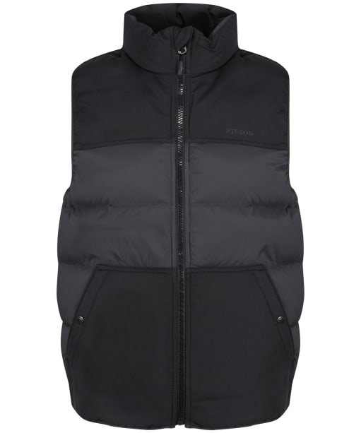 Men's Filson Featherweight Down Vest - Faded Black