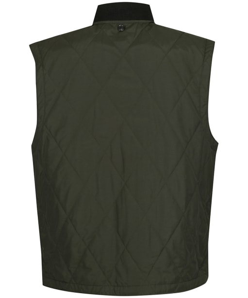 Men's Filson Quilted Pack Vest - Dark Otter Green