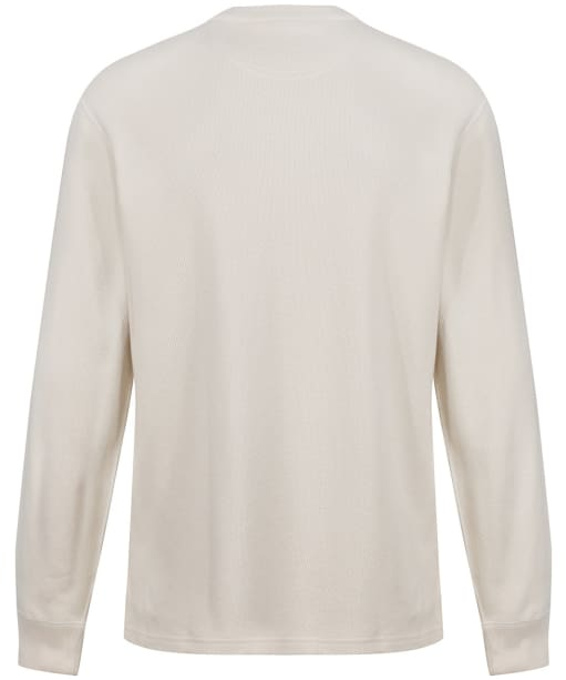 Men's Filson Waffle Knit Thermal Crew Sweater - Sand