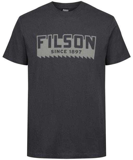 Men's Filson S/S Ranger Graphic T-Shirt - Faded Black