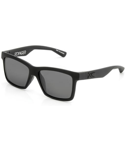Carve Voyager Polarized Floatable Sunglasses - Matt Black