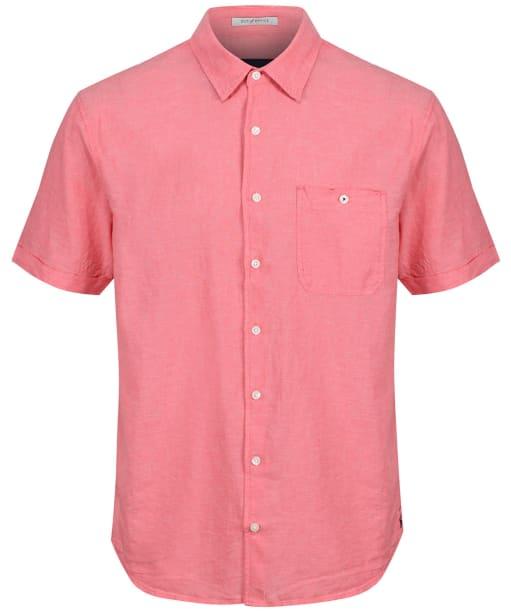 Men's Joules Breaker S/S Shirt - Coral