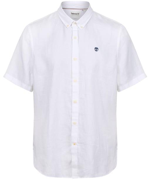 Men's Timberland Mill River Linen Shirt - White