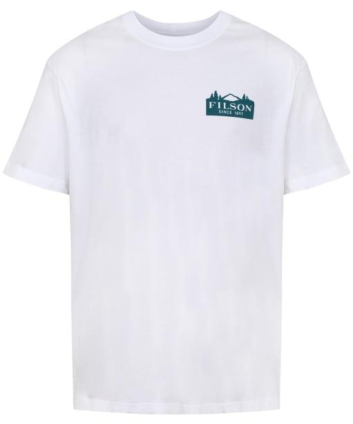 Men's Filson S/S Ranger Graphic T-Shirt - Bright White
