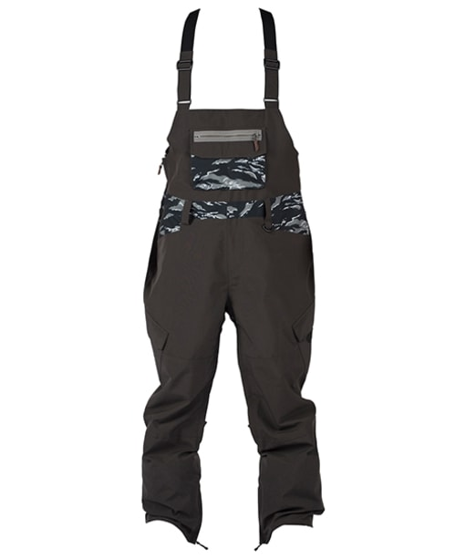 Men's Sessions Bleach Bib Snowboard Pants - Black