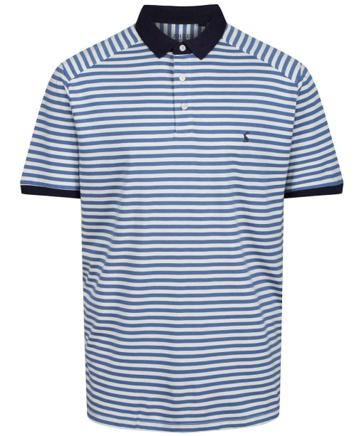 Men's Joules Clarkwell Polo Shirt - Blue Stripe