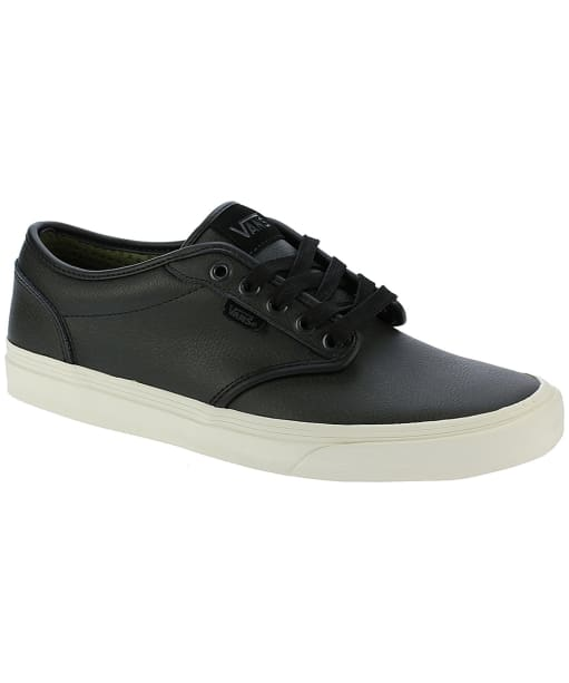 Men's Vans Atwood Leather Skate Shoes - Black
