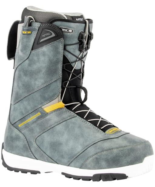 Men's Nitro Snowboarding Boots Anthem TLS - Charcoal