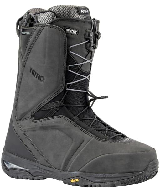 Men's Nitro Snowboarding Boots Team TLS - Black