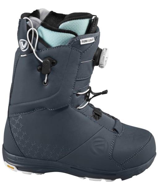 Women's Flow Lunar Hyber Snowboard Boots - Gunmetal