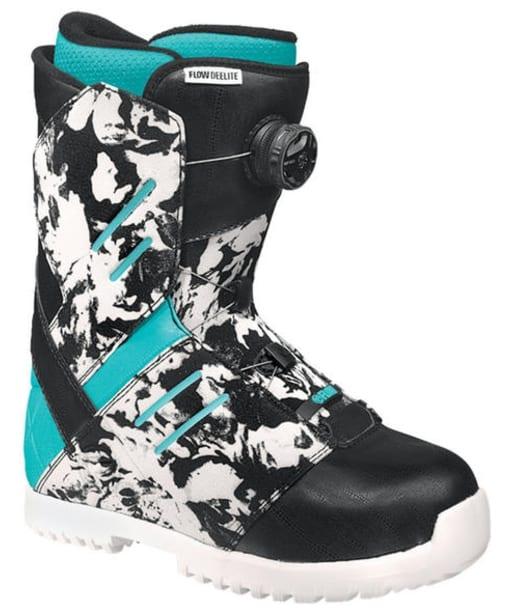 Women's Flow Deelite Snowboard Boots - Camo Blue