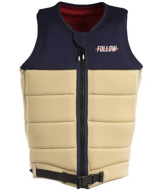 Men's Follow Axe Wakeboard Impact Vest - Sand