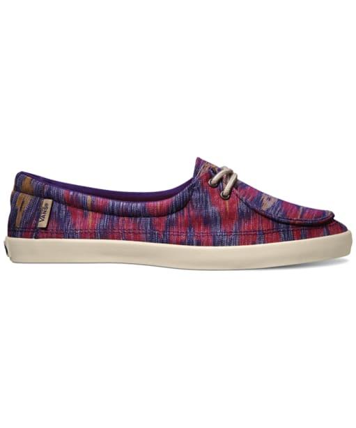 Women's Vans Rata Lo Ikat Shoes - Gothic Grape
