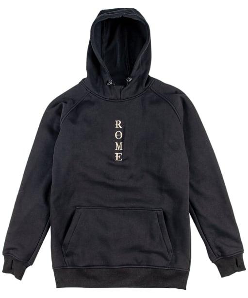 Men's Rome Riding Hoodie - Black