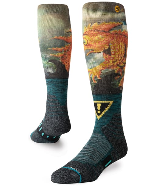 Men's Stance Lizard Lou Snowboard Socks - Green