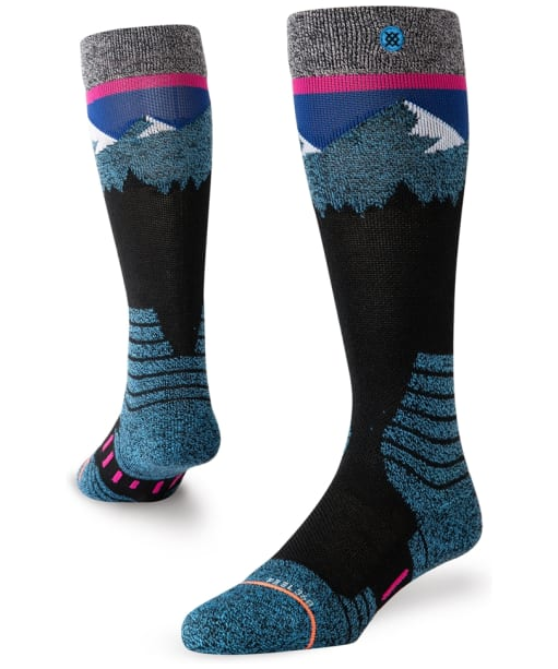 Women's Stance Ridge Line Snowboard Socks - Black