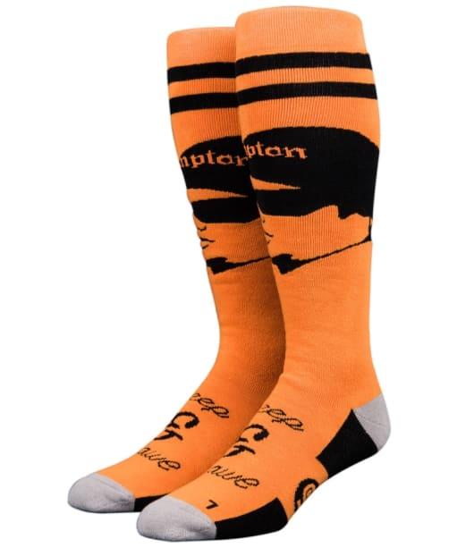 Stinky Socks Creep & Crawl Heavyweight Socks - Orange