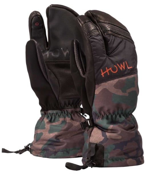 Howl Trigger Mitts - Camo