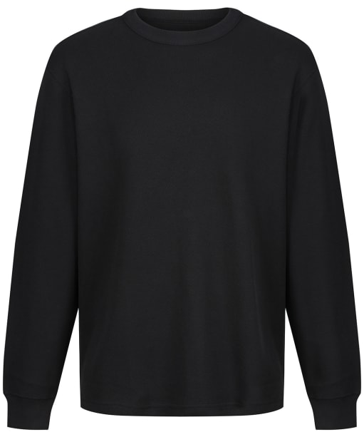 Men's Filson L/S Ranger Solid One Pocket T-Shirt - Coal