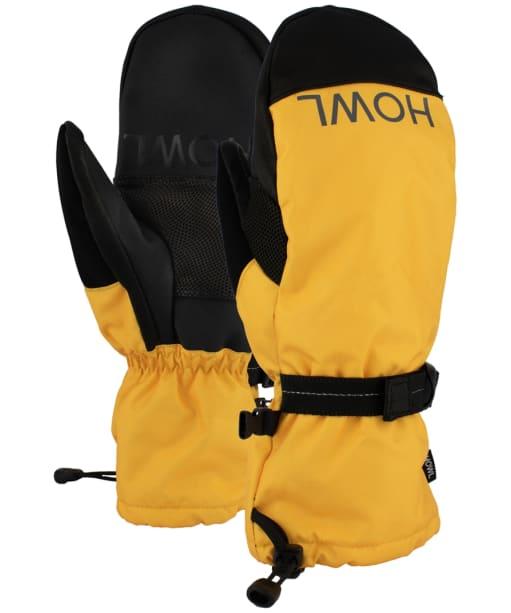 Howl Network Ski/Snowboard Mitt - Mustard