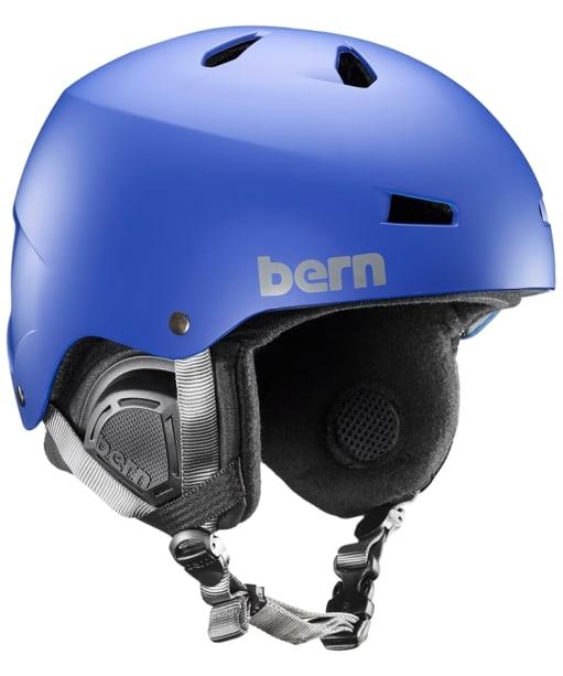 Bern Macon EPS Helmet - Matte Cobalt