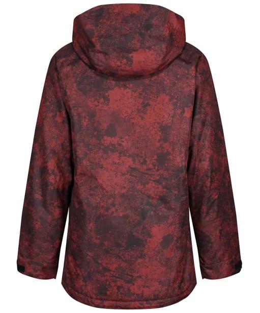 Men's Bonfire Static Insulated Snowboard Jacket - Burgundy / Granite