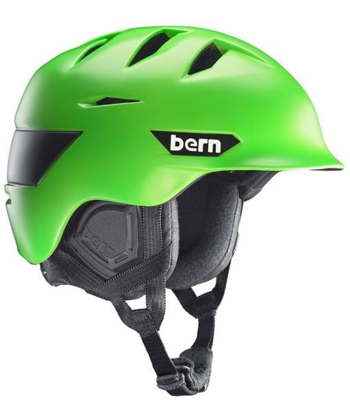 Bern Kingston Helmet - Matte Neon Green