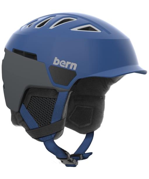 Men's Bern Heist Brim Helmet - Satin Blue