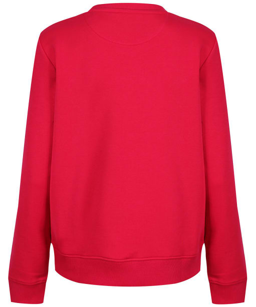 Women's Gant Archive Shield Crew Neck Sweatshirt - Raspberry Red