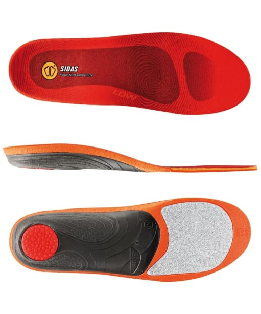 Sidas Footbeds Winter 3 Low Arch Footbeds - Multi