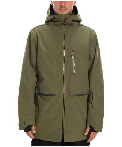 Men's 686 Eclipse Snowboard Jacket - Surplus Green