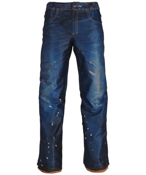 Women's 686 Deconstructed Denim Snowboard Pants - Dark Denim