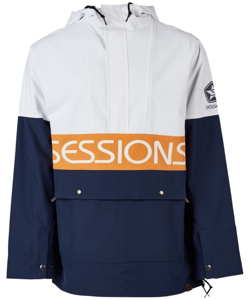 Men's Sessions Chaos Pullover Jacket - White
