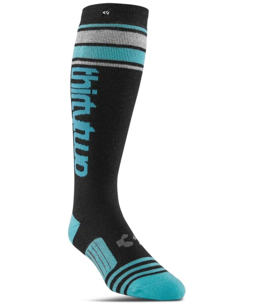 Women's ThirtyTwo Stripe Grap Socks - Black
