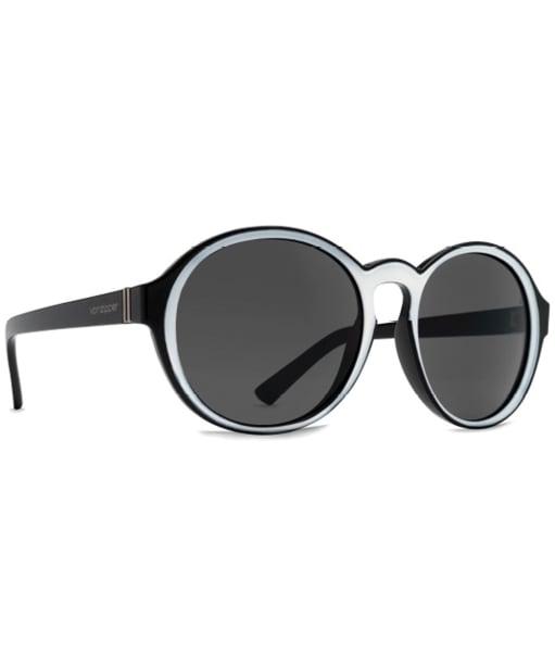 VonZipper Lula Sunglasses - Black / White / Grey
