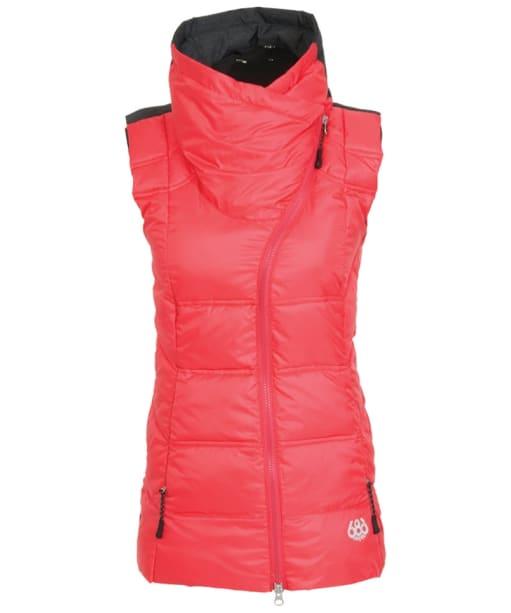 Women's 686 Serenade Snowboard Vest - Fuchsia