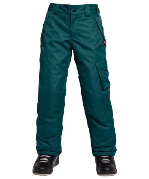 Girl's 686 Agnes Snowboard Pants - Black Jade