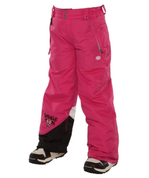 Girl's 686 Snaggle Sister Snowboard Pants - Raspberry