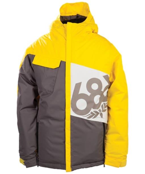 Boy's 686 Mannual Iconic Snowboard Jacket - Lava